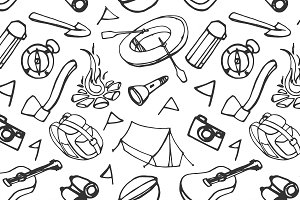 Doodle pattern adventure