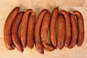 Fresh home made sausages