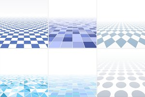 Blue tile abstract backgrounds.