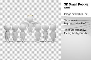 3D Small People - Angel