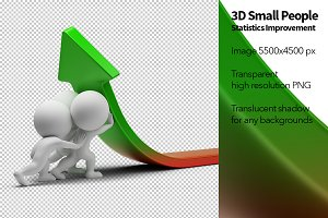 3D Small People - Statistics Improve