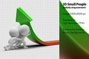 3D Small People - Statistics Improve