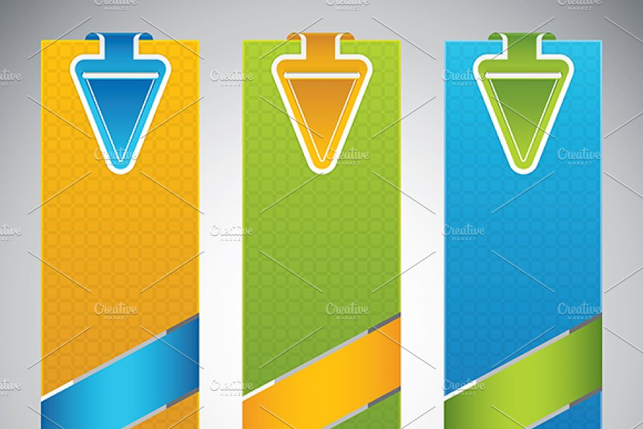 Set of universal banners in Illustrations - product preview 8