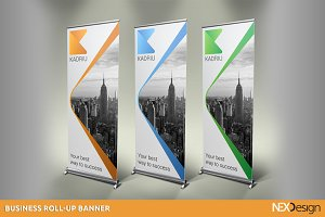 Business Roll-up Banner - SK #012