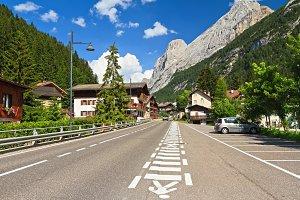 Dolomiti - Penia village in Val di F