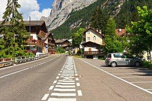 Dolomites - Penia village