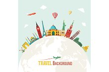 Travel and tourism backgrounds