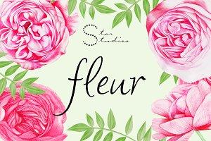 FLEUR floral pack