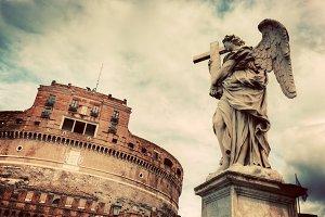 Castel Sant'Angelo, Rome, Italy.