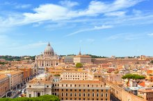 Architecture of Vatican City.