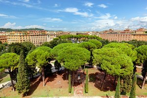 Parco Adriano. Rome, Italy.