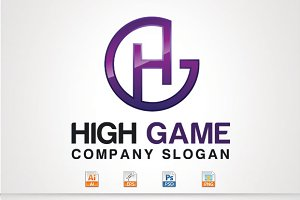 H,G Letter Logo