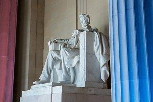 Patriotic impression of Lincoln