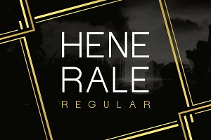Henerale Regular