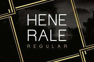 Henerale Regular