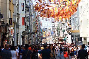 Street of Istanbul,Turkey
