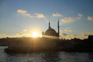 Sunset,Istanbul