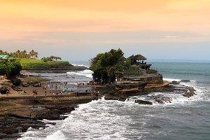 Tanah Lot Temple,Bali Island