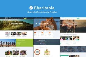 Charitable-Nonprofit Joomla Template