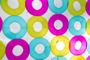 Rubber ring colorful variety
