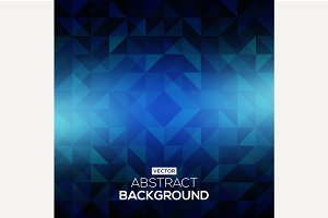 Colorful abstract geometric backgrou