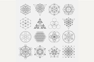 Sacred geometry design elements