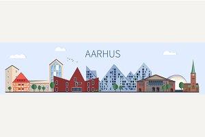 Aarhus landmarks and monuments