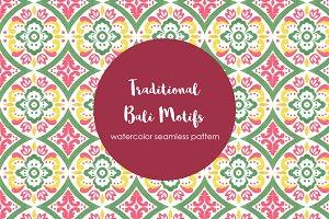 Traditional Bali Motif Pattern