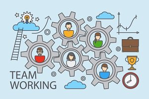 Teamwork and collaboration business