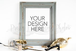 #12 PLSP Styled Frame Stock Photo