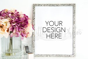#24 PLSP Styled Frame Stock Photo