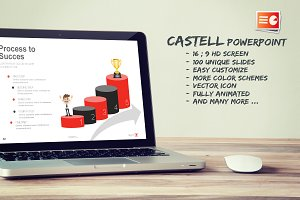 Castell Powerpoint Template