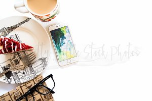 #205 PLSP Styled Desktop Stock Photo