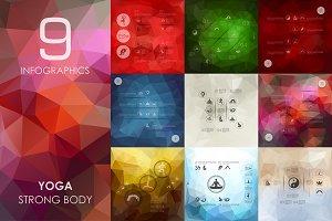 9 Yoga infographics