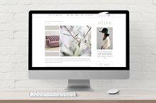 Responsive WordPress Theme · Olive