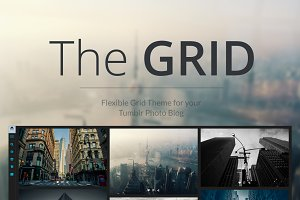 The GRID - Tumblr Theme