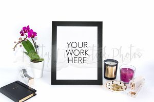 #292 PLSP Styled Frame Stock Photo