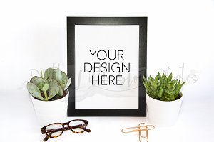 #295 PLSP Styled Frame Stock Photo