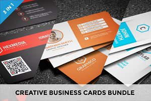 Creative Business Cards Bundle - 7