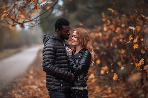 Pure unconditional love: beautiful Caucasian young woman