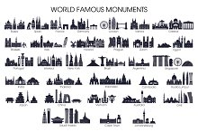 Word famous monuments