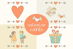 Valentine Cards and Objects