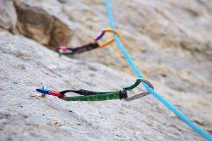 Climbers equipment