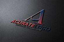 Acurate Logo / Letter