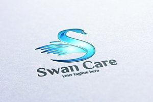 Swan Care - Logo Template