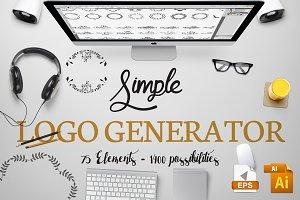 Simple Logo Generator