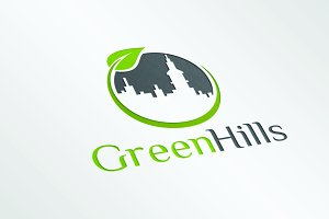 GreenHills - Logo Template