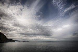 The Horizon at sea