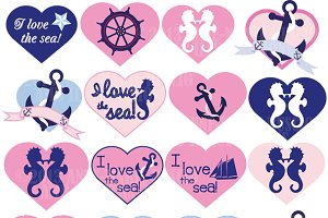 Nautical Clipart, AMB-117