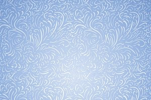 Seamless frost decor pattern